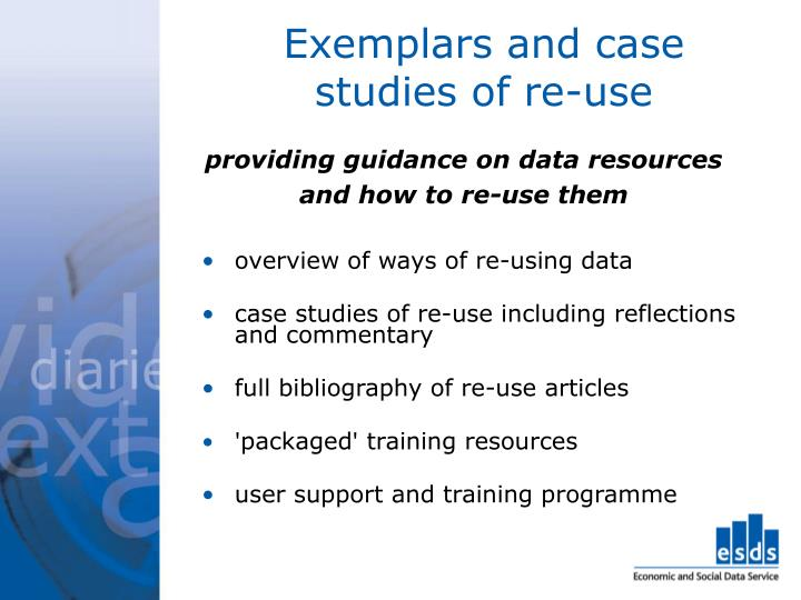 Exemplars and case