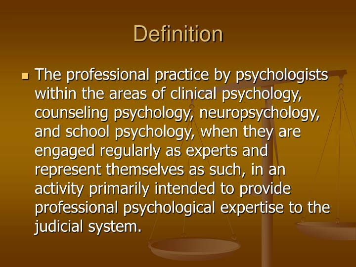 Ppt Forensic Psychology Powerpoint Presentation Free Download Id 141062