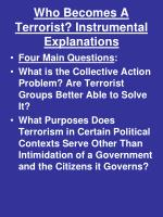 who becomes a terrorist instrumental explanations1