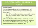 political parties and public policy