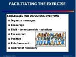 facilitating the exercise1