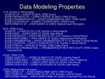 data modeling properties