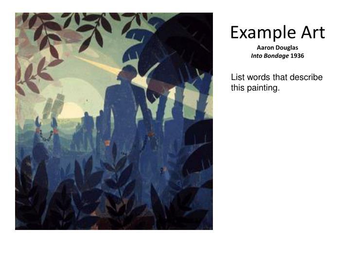 Example Art