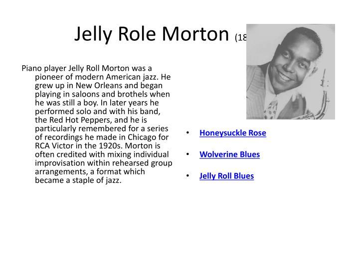 Jelly Role Morton