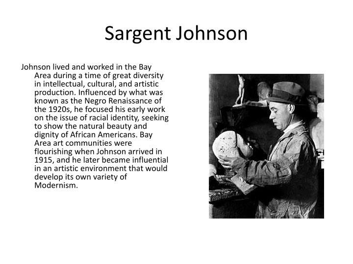 Sargent Johnson