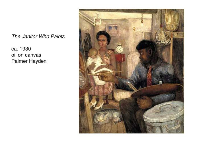 The Janitor Who Paints