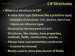 c structures1