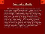 prosperity motifs
