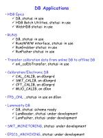 db applications