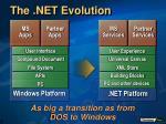 the net evolution