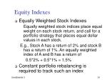 equity indexes1