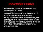 indictable crimes