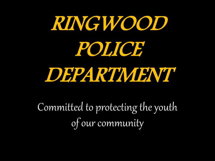 ringwood police department n.