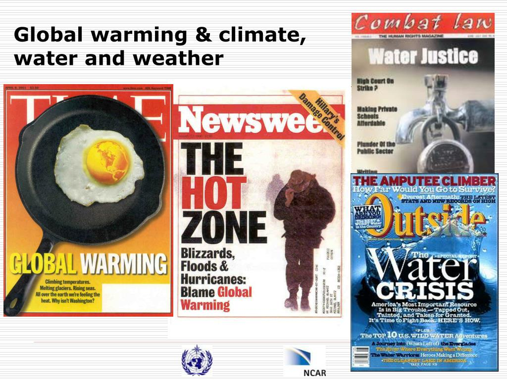 Global warming & climate,