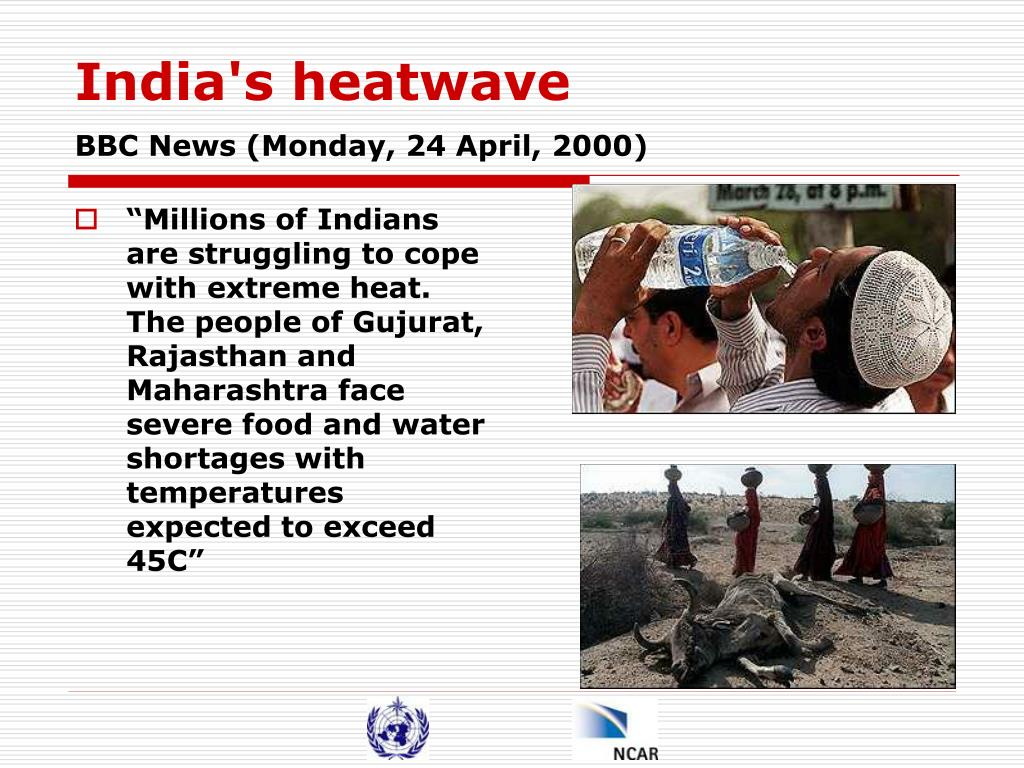 India's heatwave