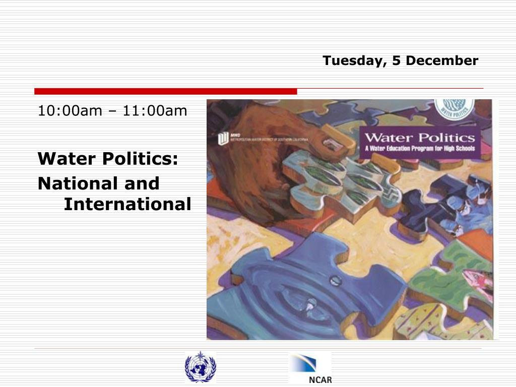 Tuesday, 5 December