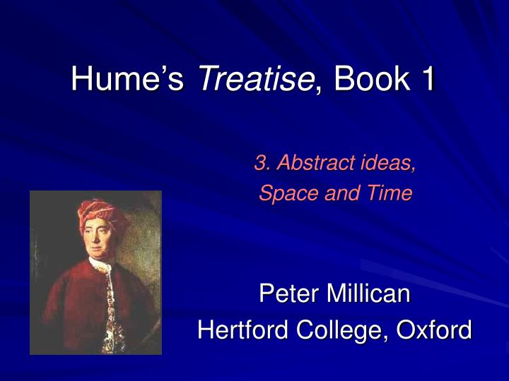hume s treatise book 1 n.