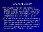 humean fictions