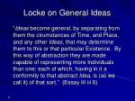 locke on general ideas