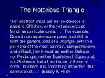 the notorious triangle