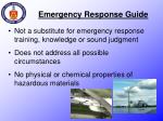 emergency response guide1