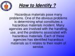 how to identify
