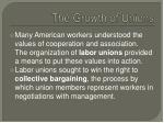 the growth of unions1