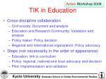 tik in education