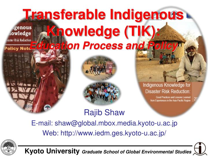 transferable indigenous knowledge tik education process and policy n.