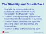 the stability and growth pact