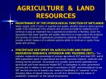 agriculture land resources2
