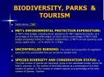 biodiversity parks tourism