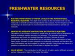 freshwater resources1