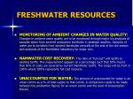 freshwater resources2
