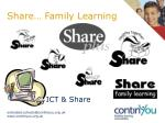 share family learning