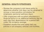 general health strategies1