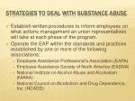 strategies to deal with substance abuse1