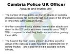 cumbria police uk officer