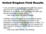 united kingdom field results1