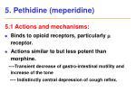5 pethidine meperidine