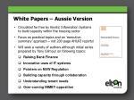 white papers aussie version