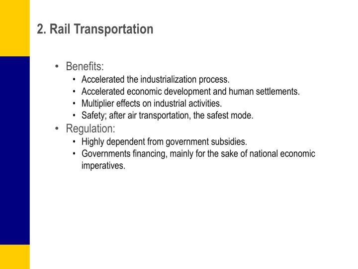 2. Rail Transportation