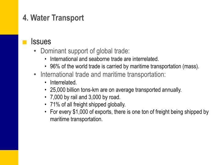 4. Water Transport
