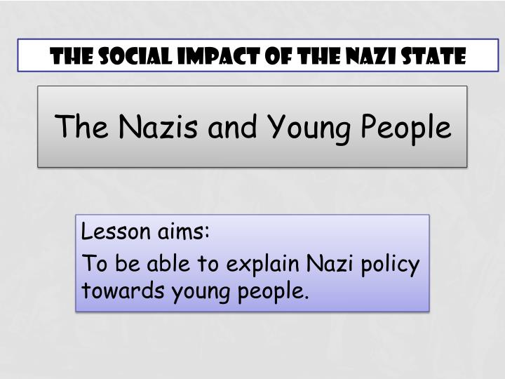 the nazis and young people n.