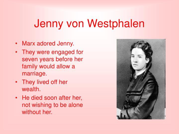 Jenny von westphalen