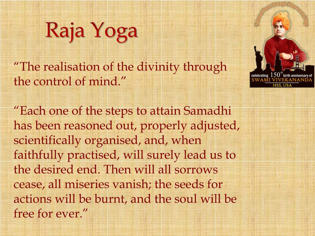 Ppt Swami Vivekananda On Youth And Yoga Powerpoint Presentation Free Download Id 1410992