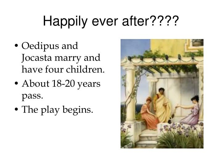 Happily ever after????