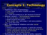 concepts 1 technology
