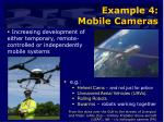 example 4 mobile cameras