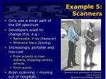 example 5 scanners